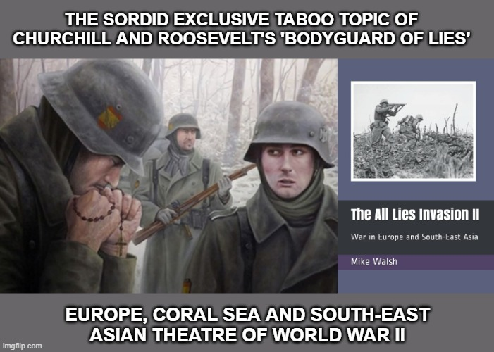 All Lies Europe, Coral Sea and South East Asia